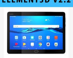 E3D - Huawei MediaPad M3 Lite 10 3D model