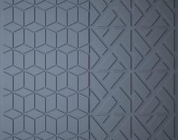 Polygonal Panel 3D model