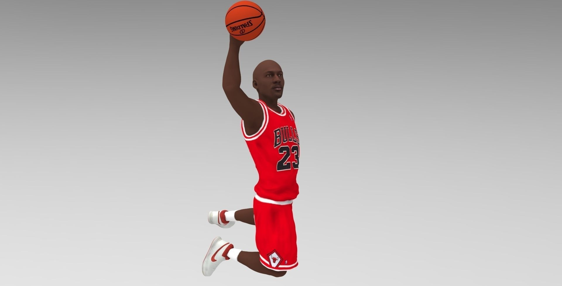 Michael Jordan ready for full color 3D printing