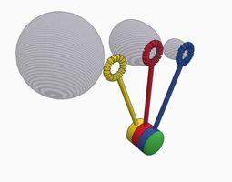 3 Bubble Blower 3D print model