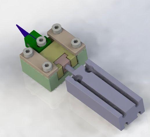 cutter module 3d model obj mtl 3ds stl sldprt sldasm slddrw ige igs iges stp 1