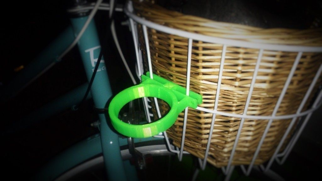 Coffee Cup Holder Bike Basket Attachment