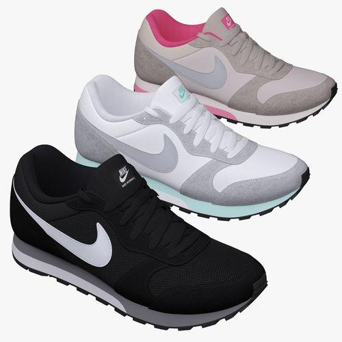 3D model Nike MD Runner 2 nike  d01d985df