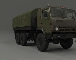 3D asset realtime Kamaz 4310