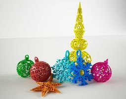3D printable model Special Christmas bundle 2017