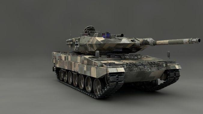 e1f96ca8d2df 3D Leopard 2 MBT