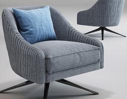 3D Roar Rabbit Swivel Chair West elm