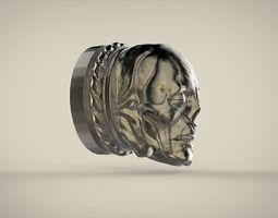 3D print model The tip of skull