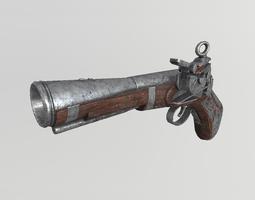 3D asset Flintlock musket