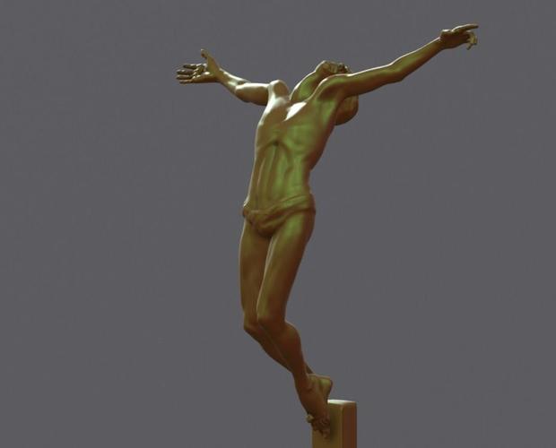 christ 3d model stl 1