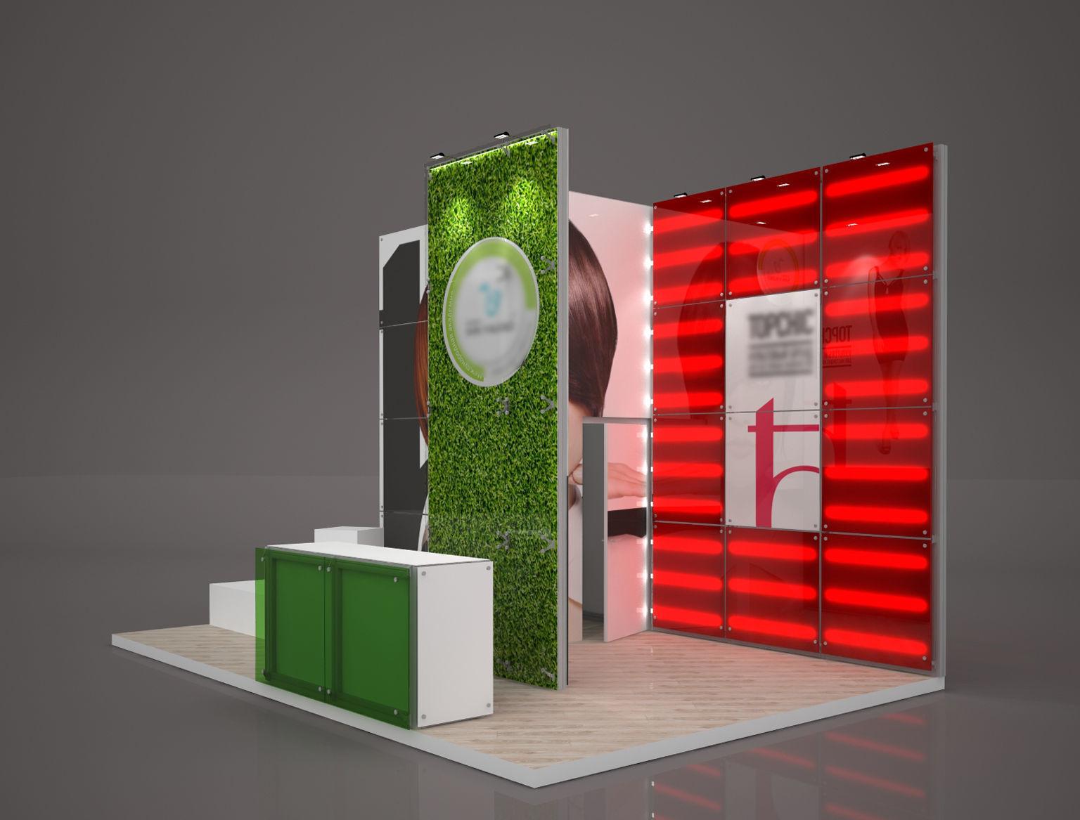 Exhibition stand octanorm maxima 6x4 m