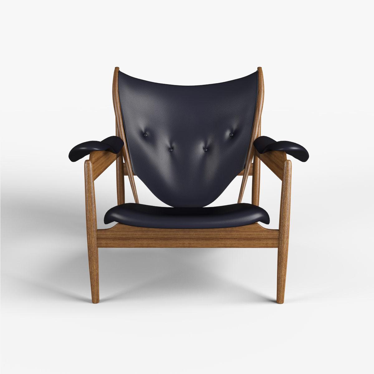 ... Chieftain Chair 3d Model Max Obj Mtl Fbx 4 ...