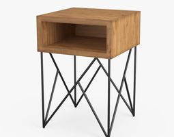 3D model Dixon Side Table