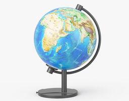 Earth Globe 3D model