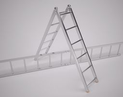 3d folding ladder