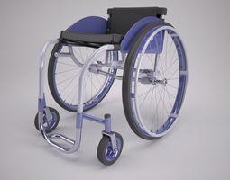 3D model wheels Wheelchair