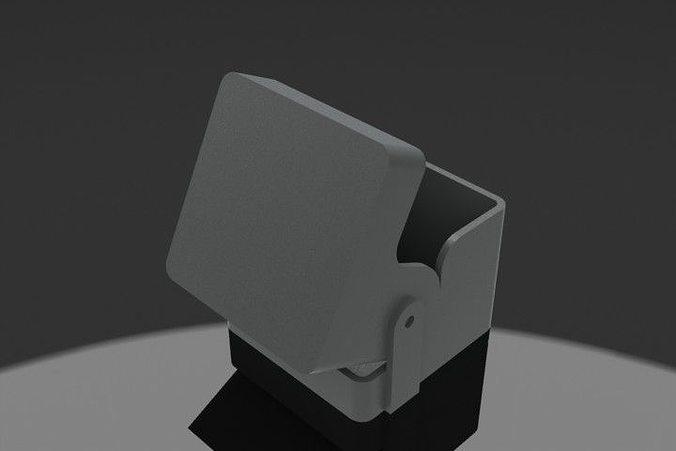cool box 3d printable model cgtrader