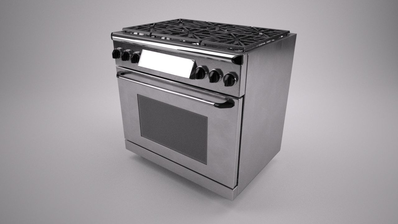 36 inch gas range cooker