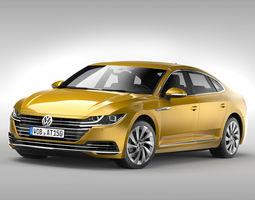 Volkswagen Arteon 2018 3D