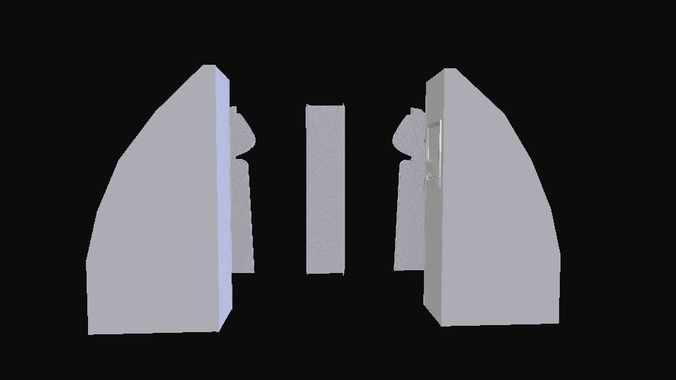 interior - cabin door planes 3d model low-poly obj mtl 3ds fbx stl dae x3d 1