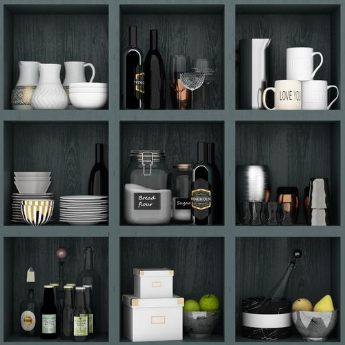 Kitchen set from Ikea | 3D model