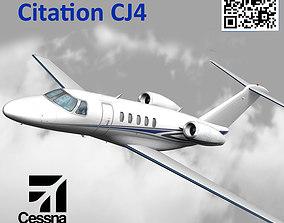 Cessna Citation CJ4 3D model