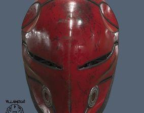 3D print model Red Hood Cyborg Ninja Helmet batman