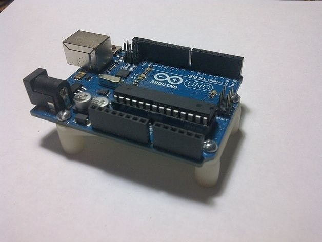 Arduino uno bracket free d model printable stl skp