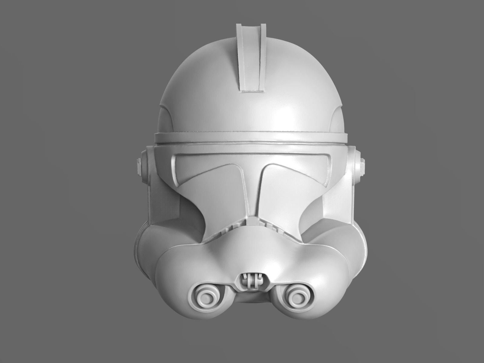 C galaxy  Trooper P2 Helmet Fan Art
