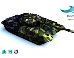T-90 Tank 3D asset
