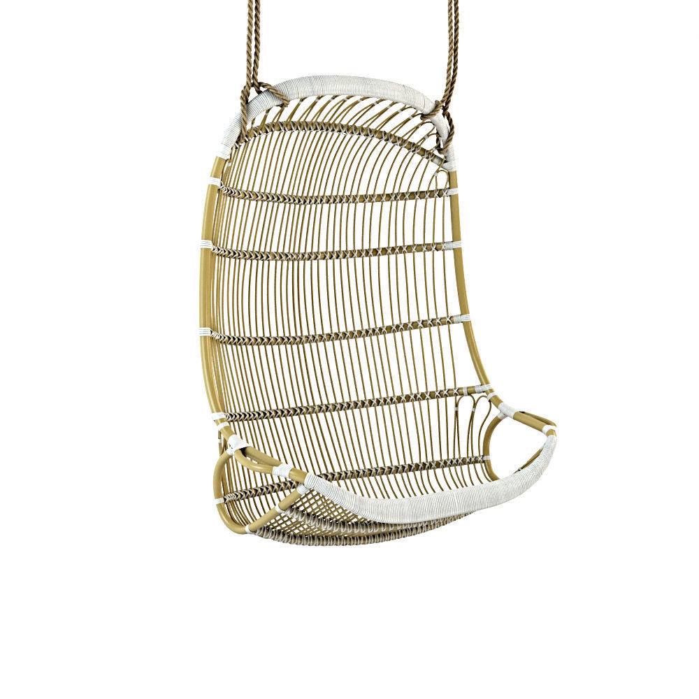Double Hanging Rattan Chair 3d Model Max Obj Fbx 1 ...