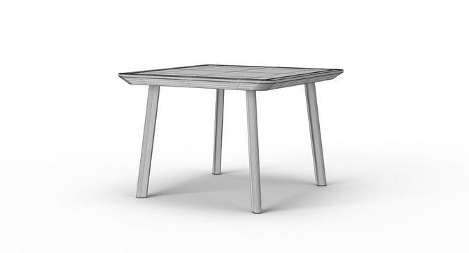 3D model Ikea Lisabo Table Set | CGTrader
