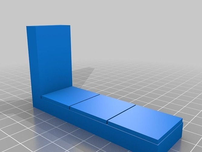 Openforge Smooth Edge Wall Tile Free 3d Model 3d Printable