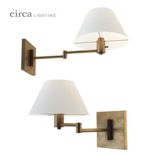 Classic Swing Arm Wall Lamp 3D Model