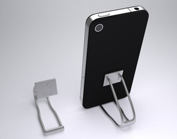 iphone stand 3d print model