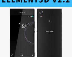 E3D - Sony Xperia XA1 Black