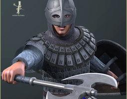 3D model Adam Warrior