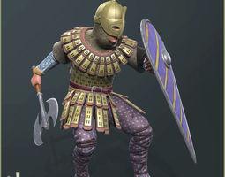 3D model Adam Warrior Light