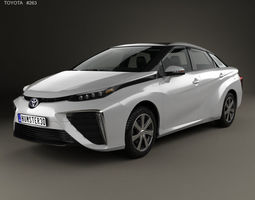 Toyota Mirai with HQ interior 2014 3D