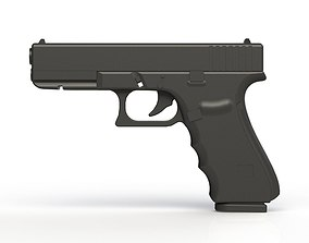 Glock 17 Gen 4 3D printable model