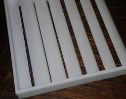 Air conditioning vent 3D print model