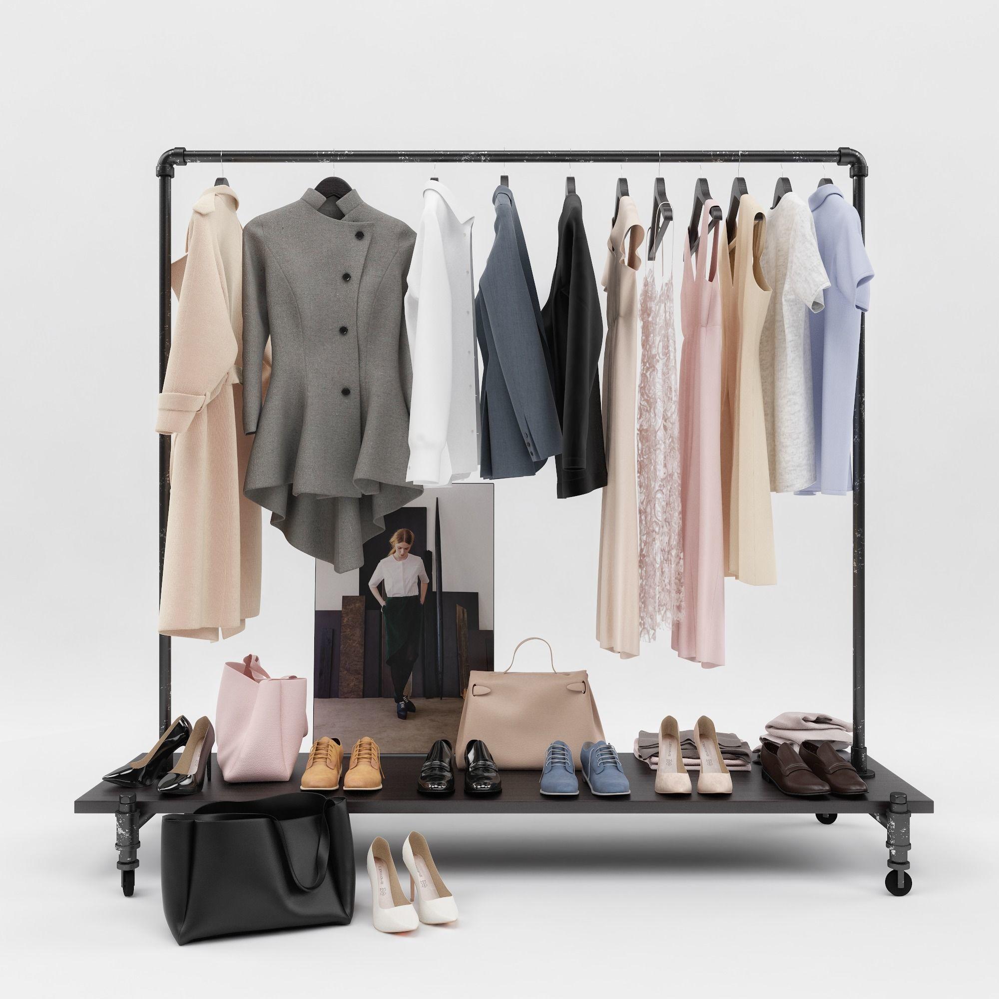 Womens and mens wardrobe