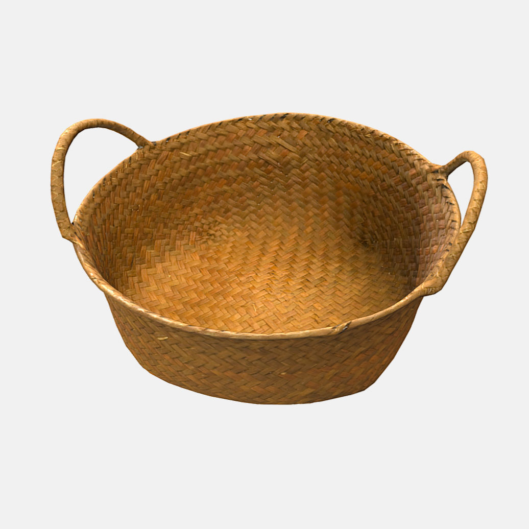 Low Poly PBR Basket