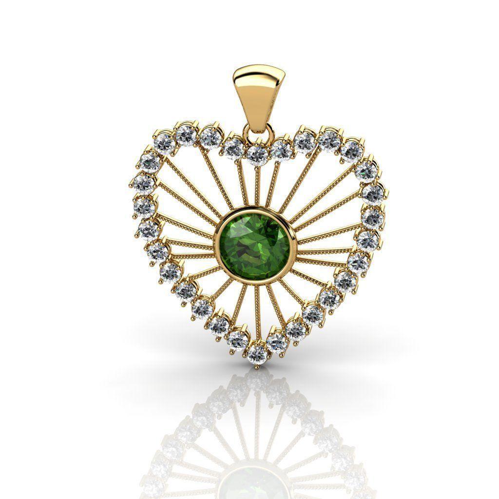 Heart shaped diamond pendants 3d print model cgtrader heart shaped diamond pendants 3d model stl 3dm 1 mozeypictures Images