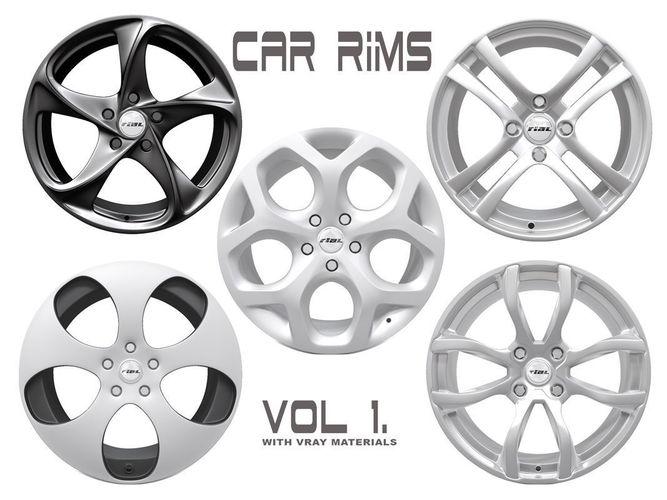 car rims - vol 1 3d model max obj mtl fbx 1