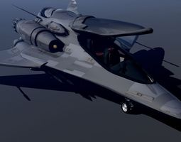 3D Phantom JS-88 Hybrid Fighter
