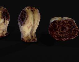 Mutilated creepy human body 3D model