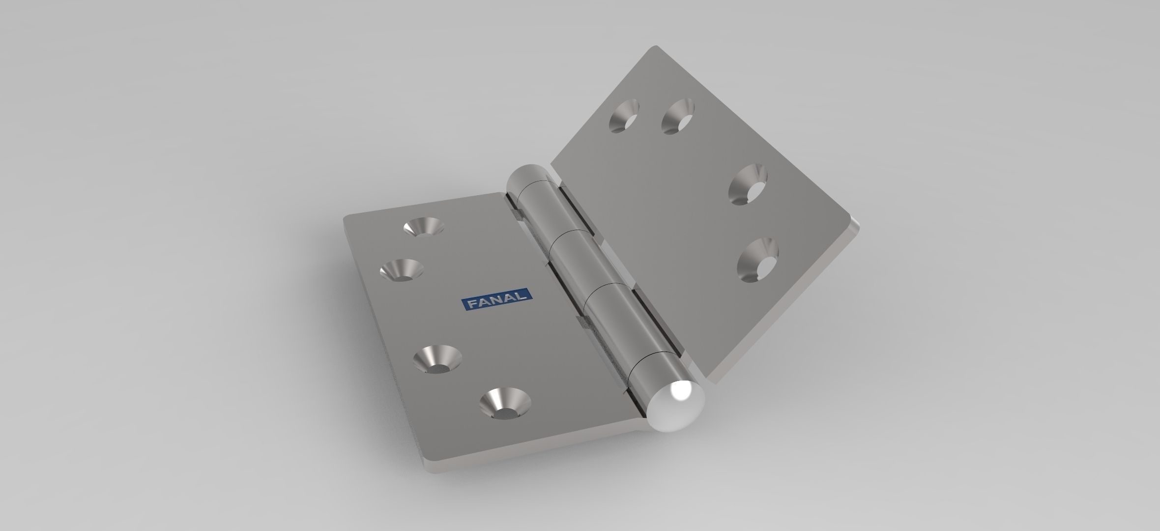 Door Hinge 3d Model Ige Igs Iges 1 ...