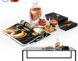 Whiskey Decor 3D