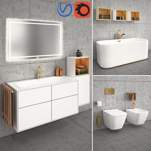 villeroy boch finion 3d cgtrader. Black Bedroom Furniture Sets. Home Design Ideas